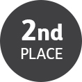 Second place icon