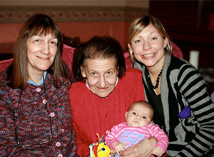 Four generations for website