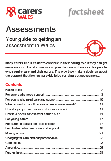 Assessments Wales 2019 factsheet