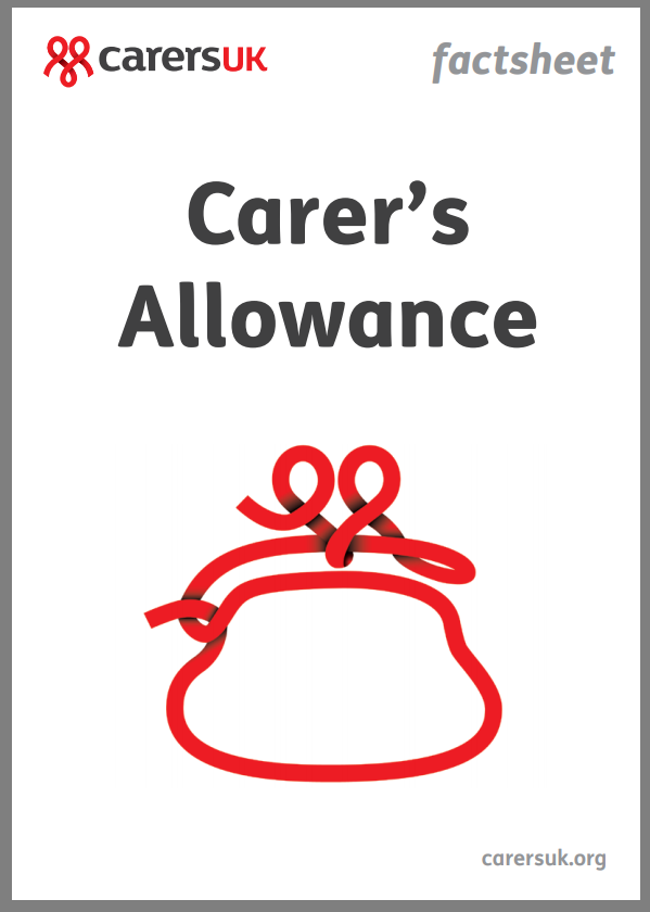 Carers Allowance factsheet
