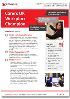 Workplace Champion