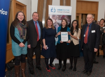 Scottish Parliament award picture